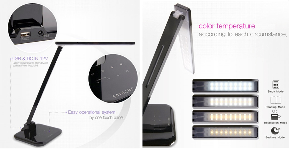 Energy-efficient LED desk lamp from Satechi brightens your space ...