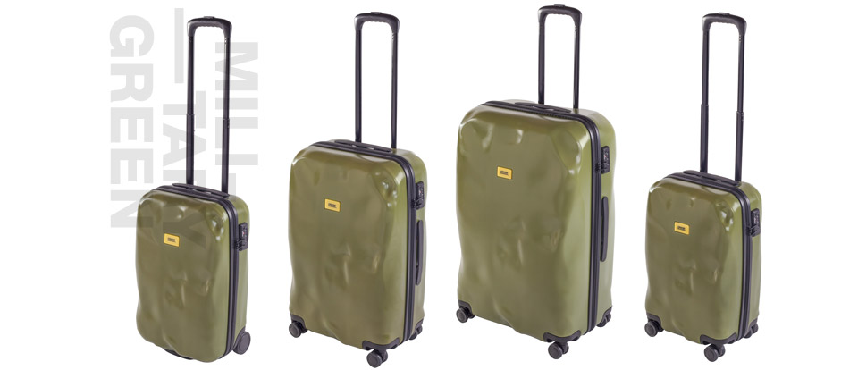 Worried about dents in your new luggage? Don't with Crash Baggage