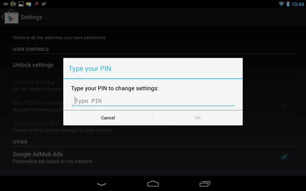 how to change pin in combank app