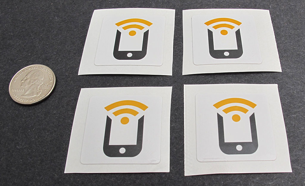 Control your smartphone with NFC tags – The Gadgeteer