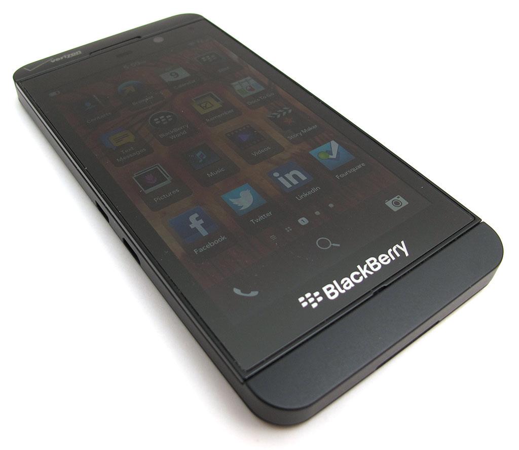 BlackBerry Z10 smartphone review – The Gadgeteer
