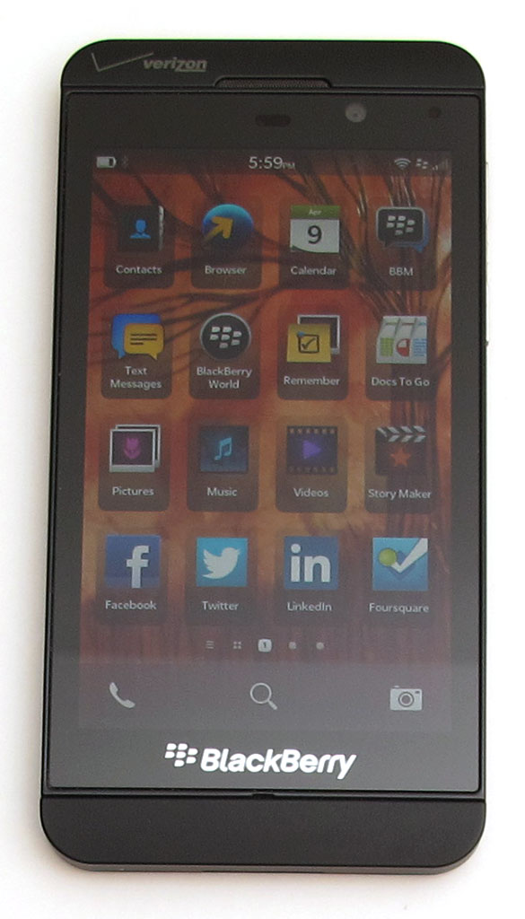 BlackBerry Z10 smartphone review – The Gadgeteer