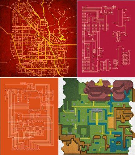 city-prints-pop-culture-maps