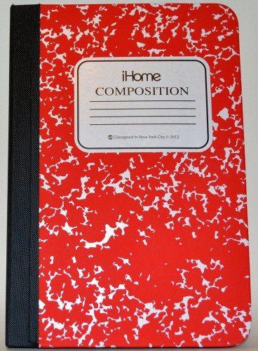 ihome composition book case ipad mini 1