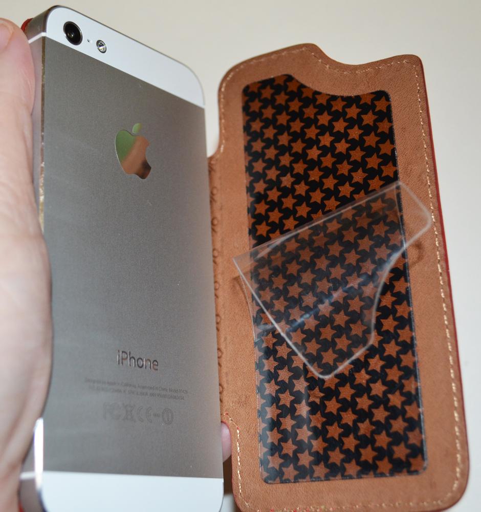 Recensione Custodia In Pelle Vaja Nuova Pelle Per Iphone 5 Isource