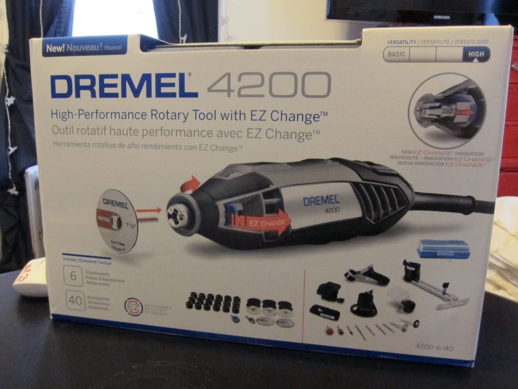 dremel 4200 rotary tool review the gadgeteer. Black Bedroom Furniture Sets. Home Design Ideas