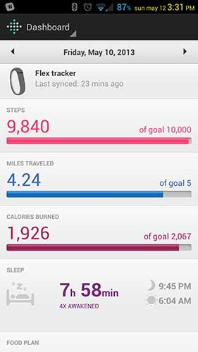 Fitbit Flex Wireless Activity + Sleep Wristband review – The