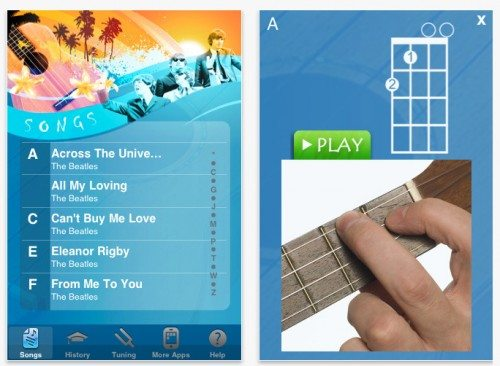 ukulele beatles songbook ios