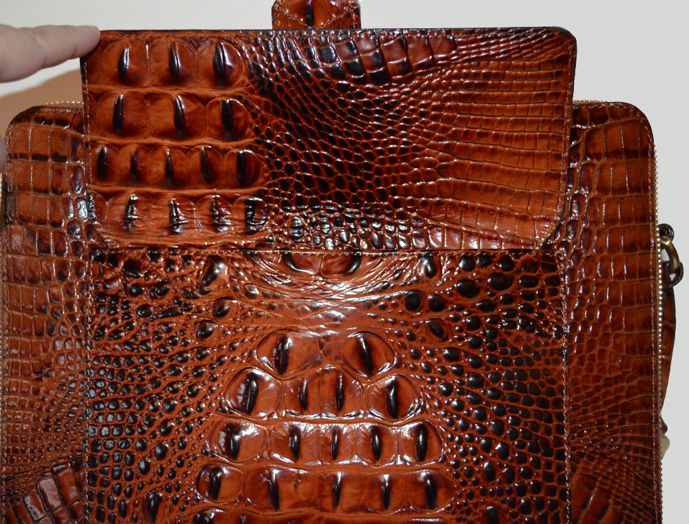 Brahmin Theo Melbourne Ipad Bag 2 The Is Made Of Genuine Leather
