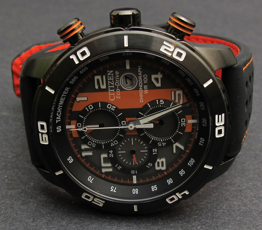 8c6d158af Citizen Men's CA0467-11H Eco-Drive Primo Chronograph Watch review ...