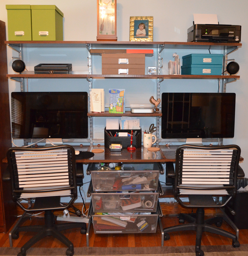 Build An Organized Home Office Without Permanently Modifying The