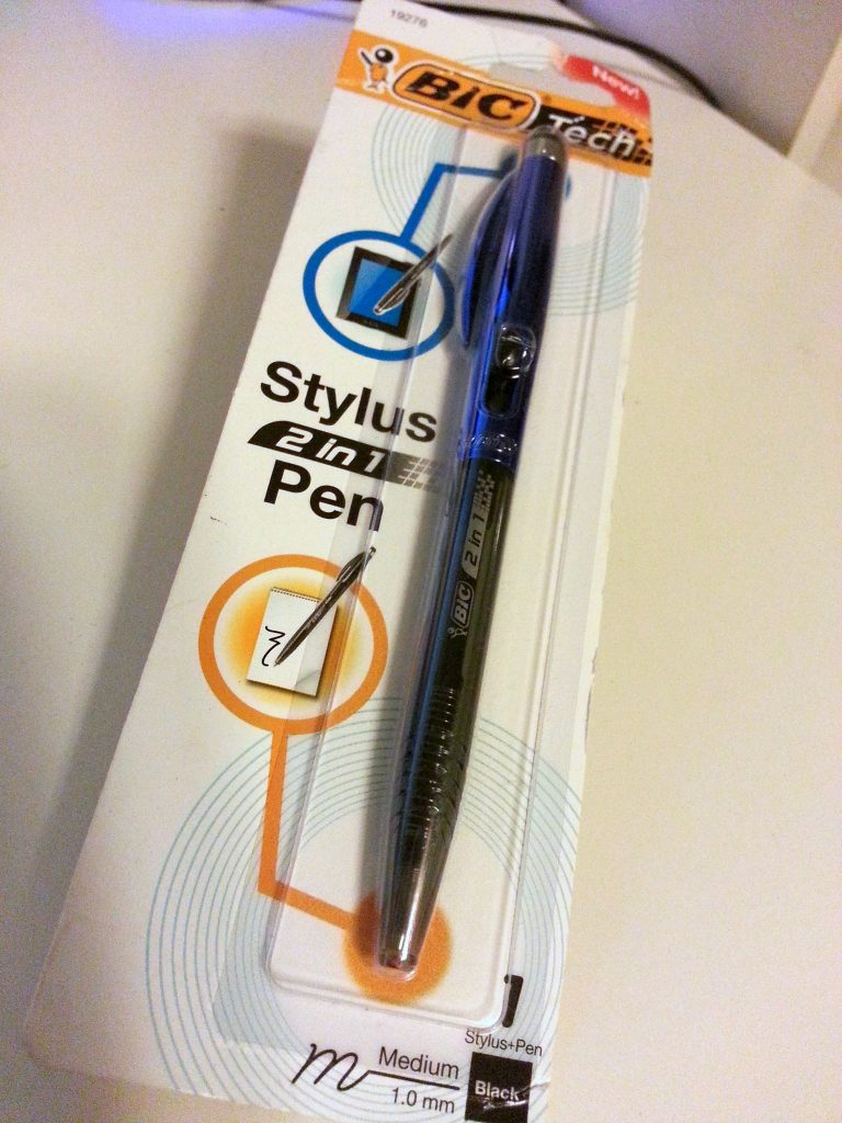 Bic Tech Stylus 2 In 1 Pen Review The Gadgeteer