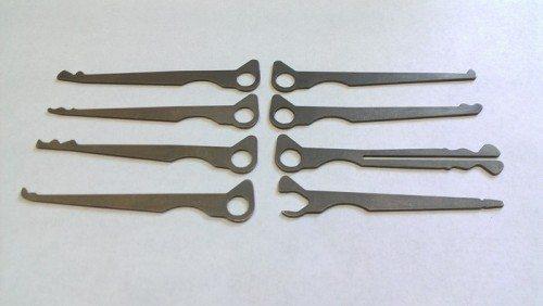 TiPiK Titanium Lockpick Set -1