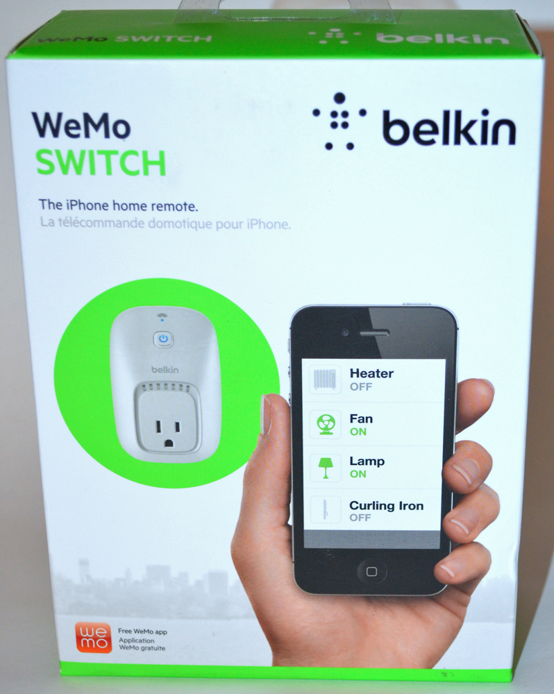 Is there a Belkin Connect app for iPhone?