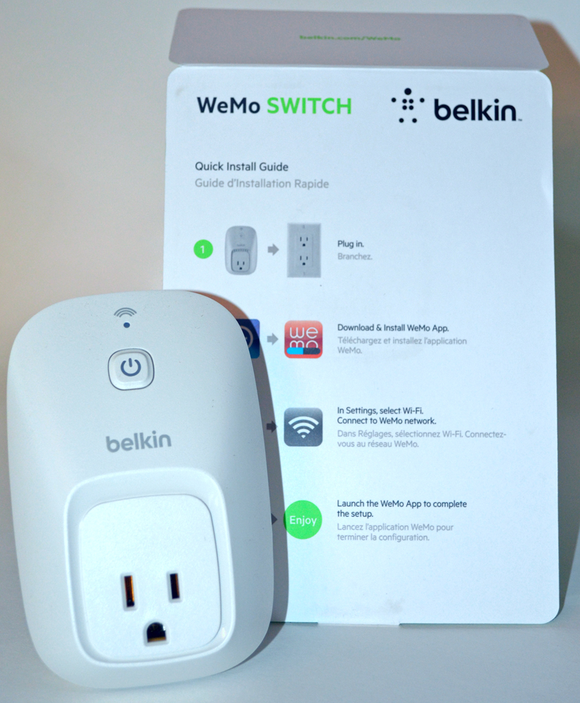 Belkin WeMo Smart Home Automation Switch review - The Gadgeteer
