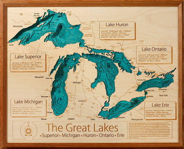3d Lake Maps From Lakehouse Lifestyle Are A Very Cool Way To Add Unique Artwork To The Walls Of Your Cabin Or Lakehouse The Maps Use Nautical Charts Along