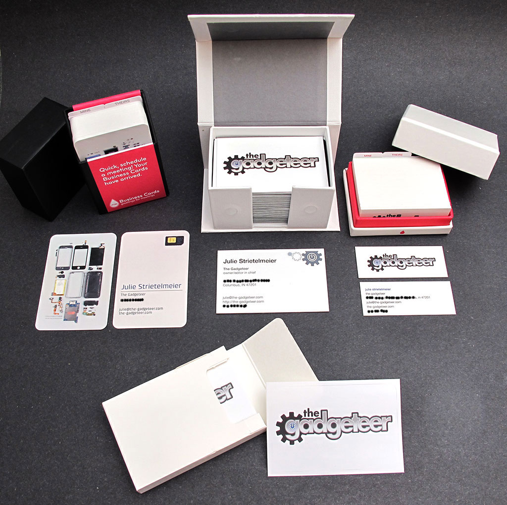 Moo custom business cards and stickers review the gadgeteer for Custome business cards