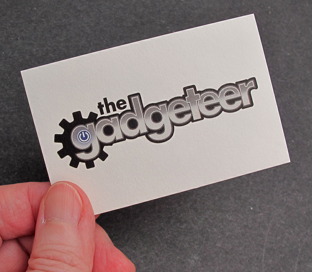 MOO Custom Business Cards And Stickers Review The Gadgeteer - Custom business stickers