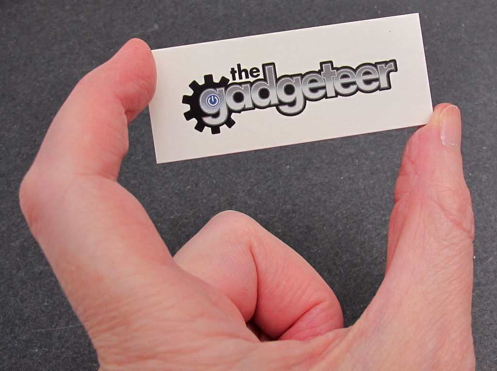 MOO custom business cards and stickers review - The Gadgeteer