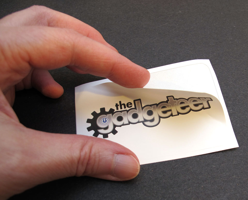 Moo custom business cards and stickers review the gadgeteer for Business cards stickers