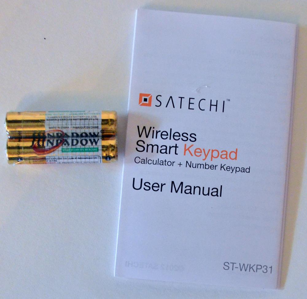 Satechi Bluetooth Wireless Smart Keypad Review