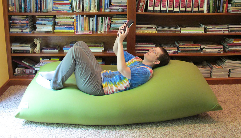 Yogibo Yogi Max Bean Bag Chair Review The Gadgeteer