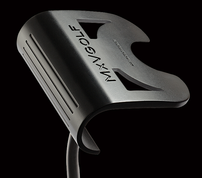 The Mxv1 Putter Has A Round Face For A Round Ball The