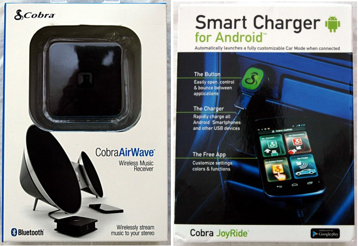 cobra airwave bluetooth music receiver and joyride 2 1 amp intelligent car charger review the. Black Bedroom Furniture Sets. Home Design Ideas