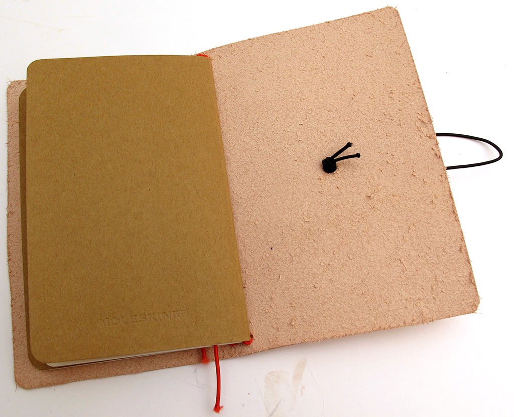 Make It Yourself Midori Traveler S Style Leather Moleskine