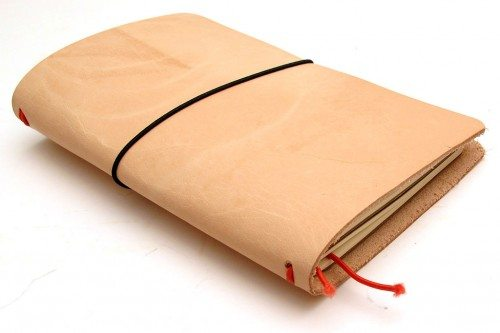 Leather Book Cover Diy ~ Make it yourself midori traveler s style leather