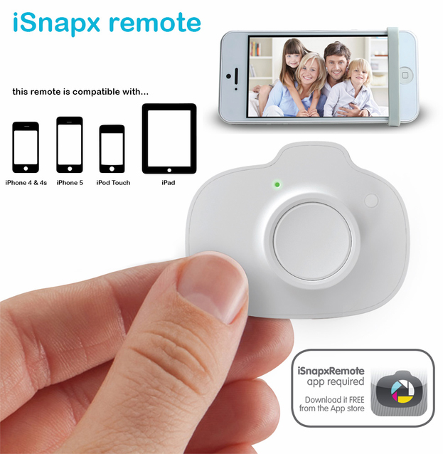 Wireless phone shutter remote control for iOS devices – The