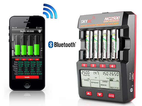 Skyrc Nc2500 Aa Aaa Battery Charger Amp Analyzer Too Cool