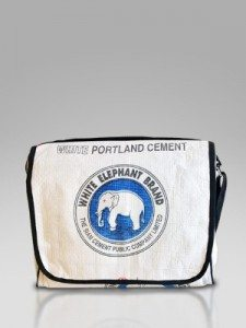 Concrete ModMessenger Bag