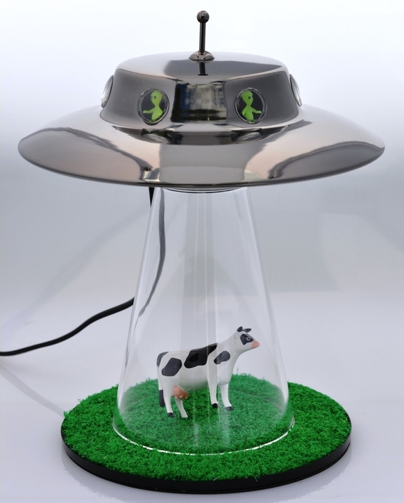 The Alien Abduction Lamp I Want To Believe The Gadgeteer Interiors Inside Ideas Interiors design about Everything [magnanprojects.com]