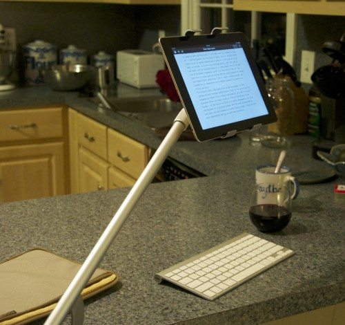 Working where you want is very freeing - what true the promise of tablet computing.