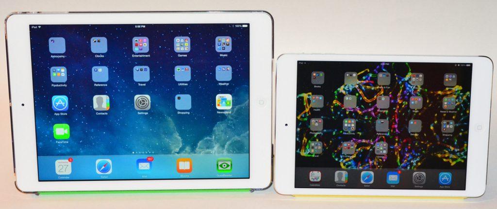 Ipad Mini Icons Ipad Air Left And Ipad Mini