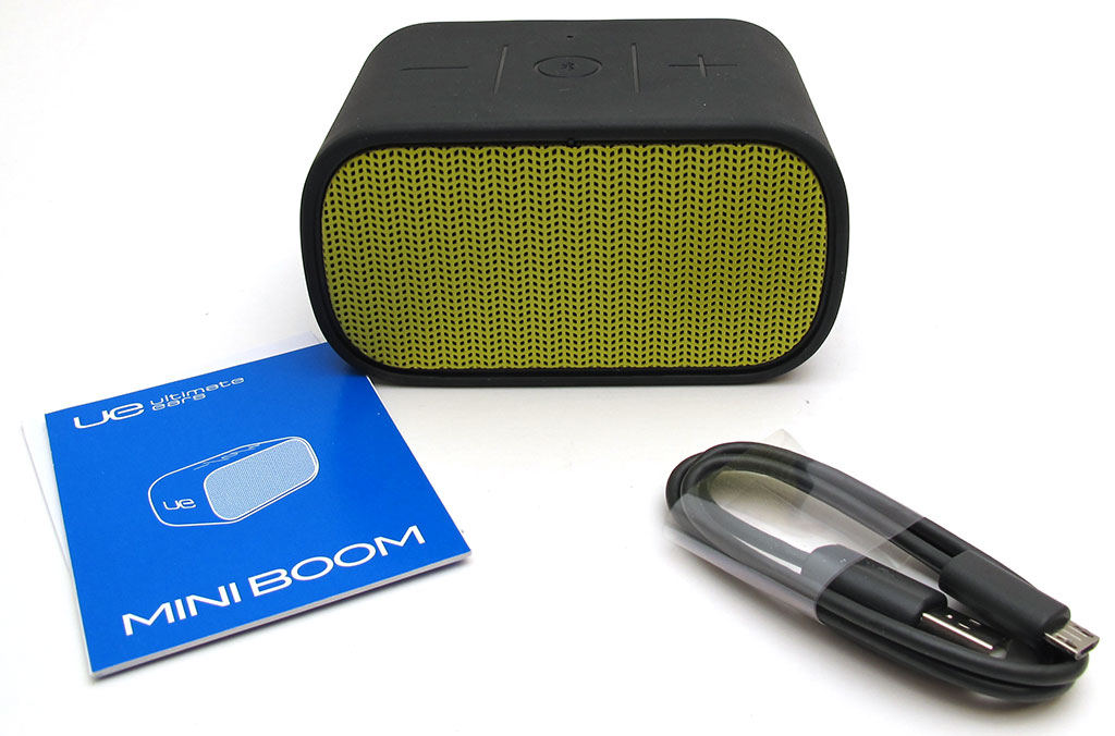 UE MINI BOOM portable Bluetooth speaker review – The Gadgeteer