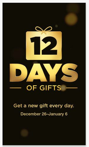 12 days of gifts app