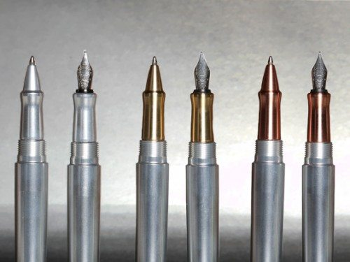 INK machined pen