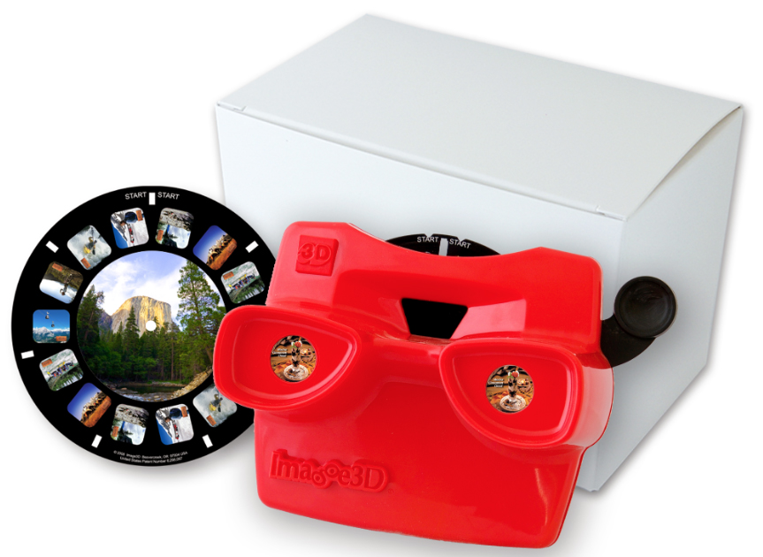 Announce your engagement or new baby with a custom 3D photo