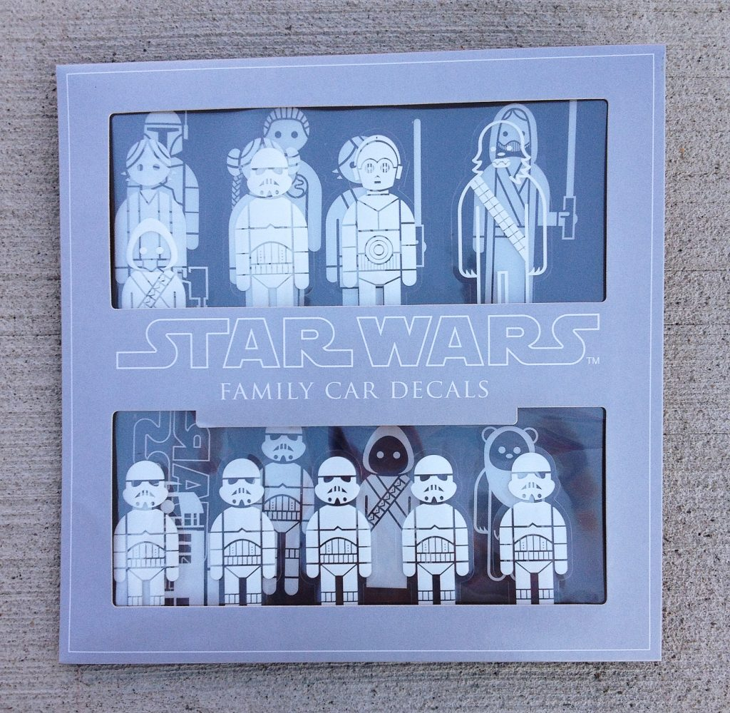 ThinkGeek Star Wars Family Car Decals review – The Gadgeteer
