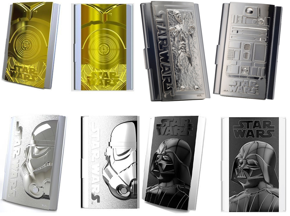 Star Wars business card cases - The Gadgeteer