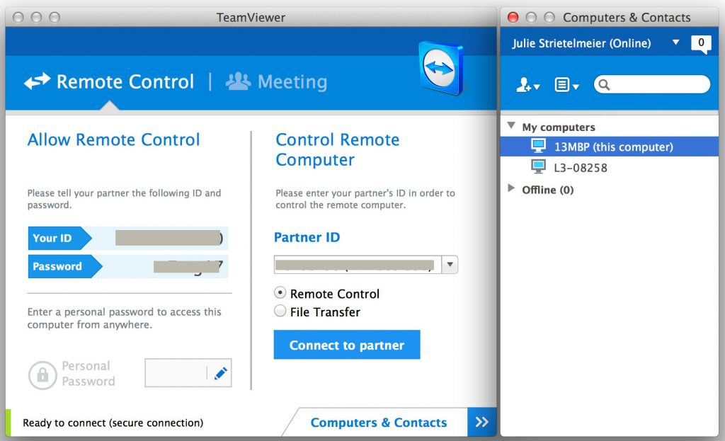 LogMeIn remote control software is no longer free, but