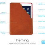 Heming iPad Case