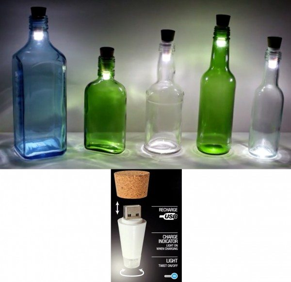 bottlelight rechargeable lamp