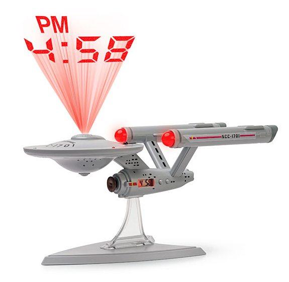 thinkgeek star trek alarm clock