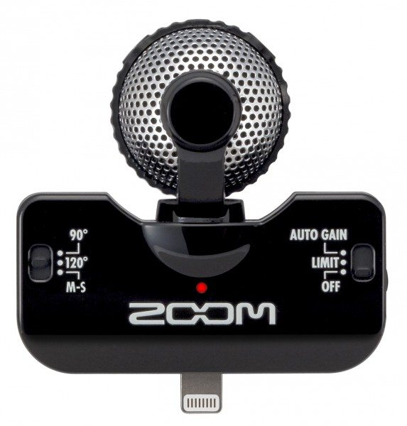 Zoom Iq5 Professional Stereo Microphone For Ios Review