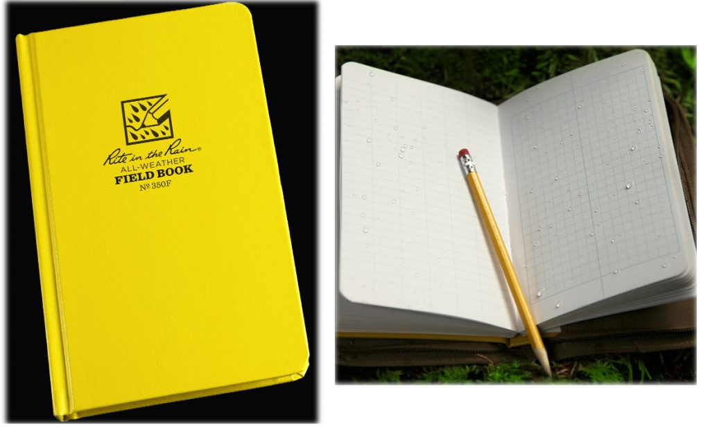 Waterproof Notebooks and All-Weather Notepads