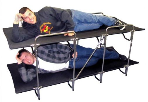 These Camping Cots Let You Rack Em And Stack Em