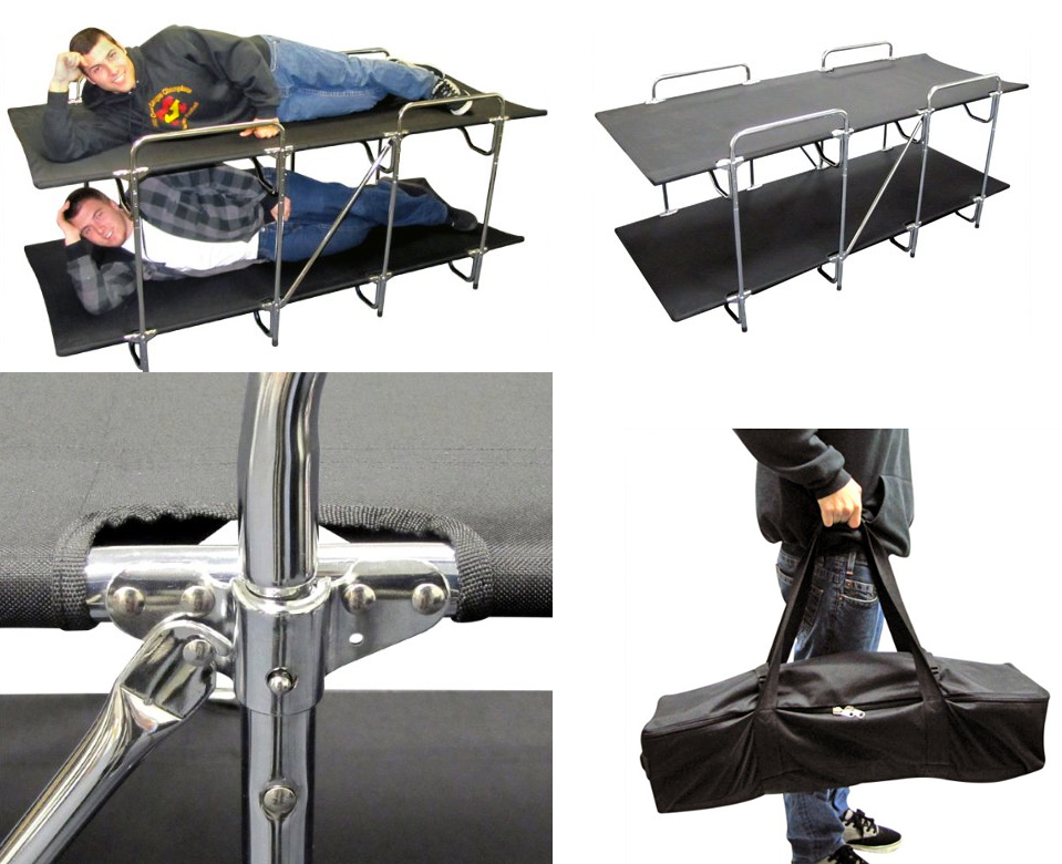 These Camping Cots Let You Rack Em